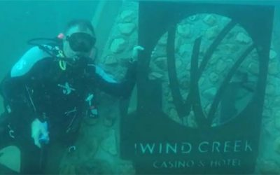 Wind Creek Support Adds to Divers' Playground